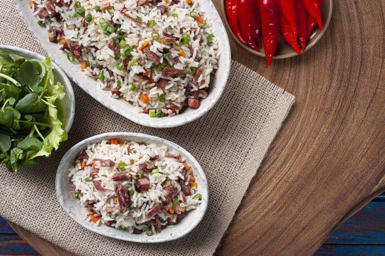 arroz carreteiro receta