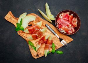 El melón con jamón, un 'maridaje' con historia